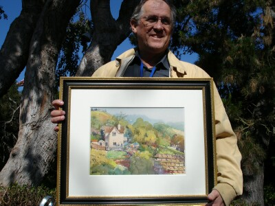 Larry Hill Ford >> Carmel Art Festival Plein Air Artists Winners 2011